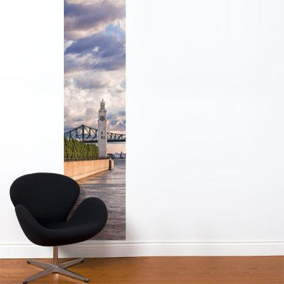 On the Riverfront Wall Decal--Wall Decal