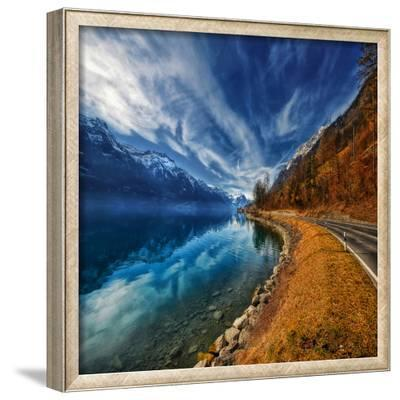 On the Road Again-Philippe Sainte-Laudy-Framed Photographic Print