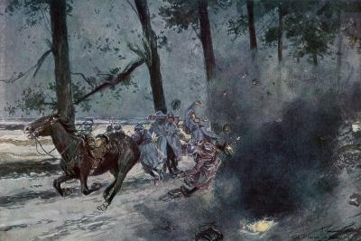 On the Road to Souain, Sommepy, France, World War I, 1915--Giclee Print