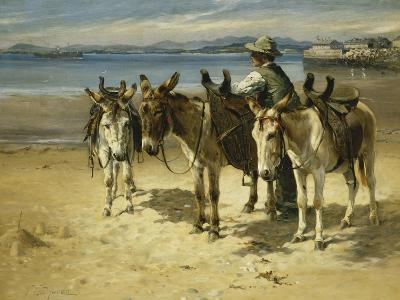 On the Sands, Morecombe-William Woodhouse-Giclee Print