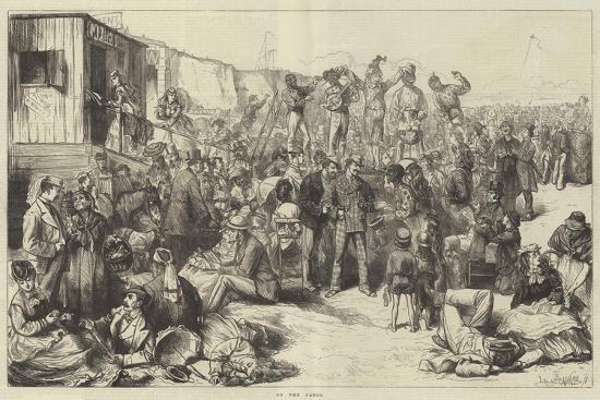 On the Sands-Frederick Barnard-Giclee Print