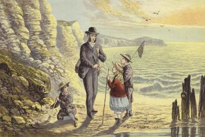 On the Sea Shore-Alexander Francis Lydon-Giclee Print