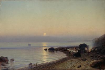 On the Seashore, 1882-Rufim Gavrilovich Sudkovsky-Giclee Print