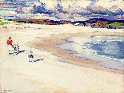 On the Shore, Iona, c.1920s-Francis Campbell Boileau Cadell-Giclee Print
