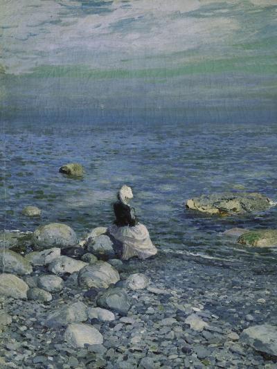 On the Shore of the Black Sea, 1890's-Alexejew Konstantin Korovin-Giclee Print