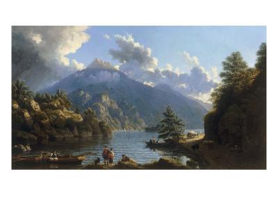On the Shores of Loch Katrine-John Knox-Giclee Print