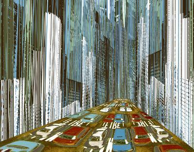 On the Sidelines II-Mj Lew-Art Print