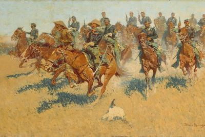On the Southern Plains, 1907-Frederic Remington-Giclee Print