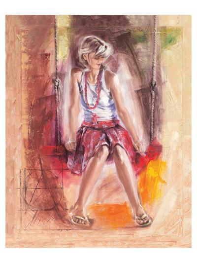 On the Swing-Talantbek Chekirov-Premium Giclee Print