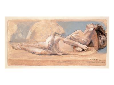 On the Swing-Talantbek Chekirov-Art Print