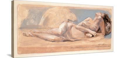 On the Swing-Talantbek Chekirov-Stretched Canvas Print