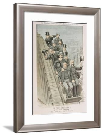 On the Switchback-Tom Merry-Framed Giclee Print
