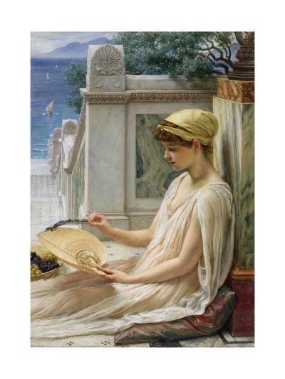 On the Terrace, 1889-Edward John Poynter-Giclee Print