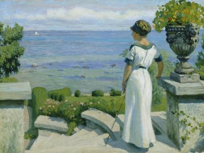 On the Terrace, 1912-Paul Fischer-Giclee Print