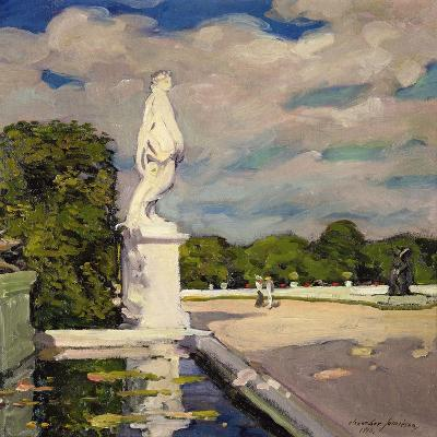 On the Terrace, Versailles, 1906-Alexander Jamieson-Giclee Print