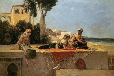 On the Terrace-Jean Joseph Benjamin Constant-Giclee Print