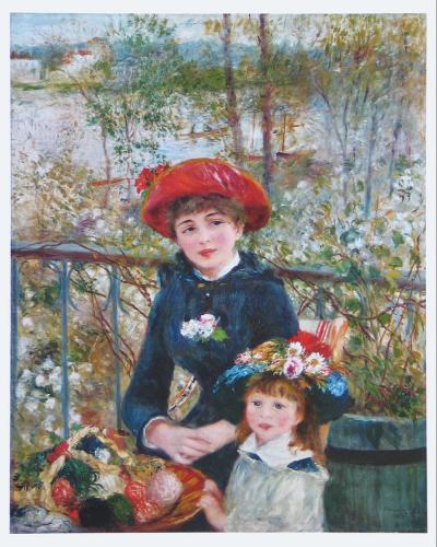On the Terrasse-Pierre-Auguste Renoir-Art Print