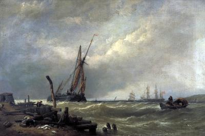 On the Texel, 1856-Clarkson Stanfield-Giclee Print