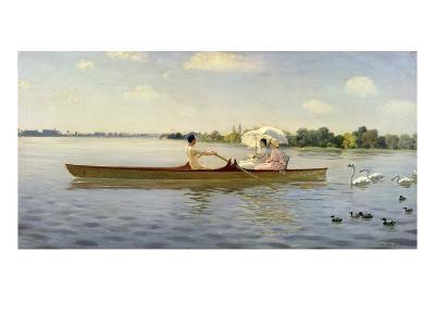 On the Thames, 1878-Giuseppe De Nittis-Giclee Print