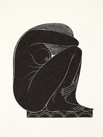 On the Tiles, 1921-Eric Gill-Giclee Print