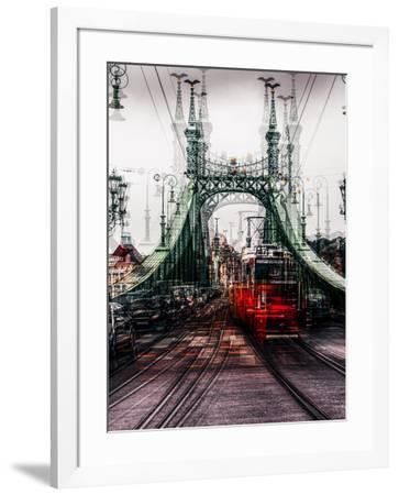on the Tram-Carmine Chiriac?-Framed Photographic Print