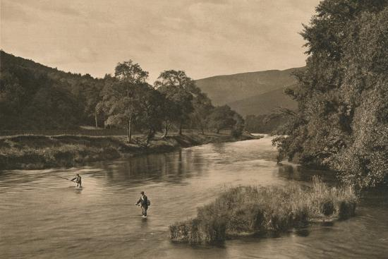 'On the Tweed near Innerleithen', 1902-Unknown-Photographic Print