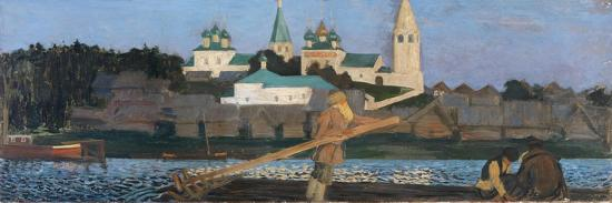 On the Volga, 1906-Boris Michaylovich Kustodiev-Giclee Print