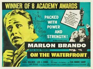 On the Waterfront, UK Movie Poster, 1954