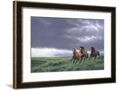 On the Way Home-Joh Naito-Framed Giclee Print
