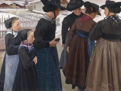 On the Way to Church, 1904-Ernest Bieler-Giclee Print