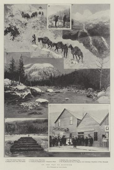 On the Way to Klondike-Henry Charles Seppings Wright-Giclee Print
