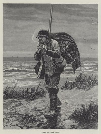 On the Way to the Decoys-Richard Caton Woodville II-Giclee Print