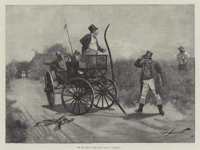 On the Way to the Poll-George L. Seymour-Giclee Print