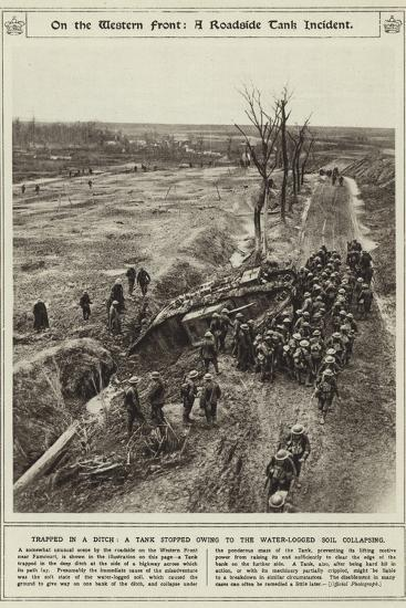 On the Western Front--Photographic Print