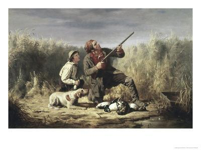 On the Wing-William Tylee Ranney-Giclee Print