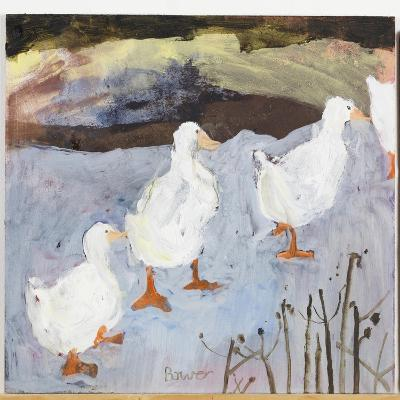 On Thin Ice, 2009-Susan Bower-Giclee Print