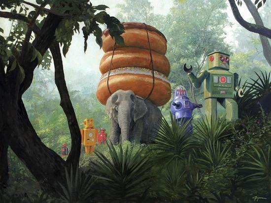 On Tiger Mountain-Eric Joyner-Giclee Print