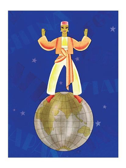 On Top of the World-Frank Mcintosh-Art Print