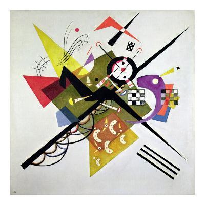 On White II-Wassily Kandinsky-Giclee Print
