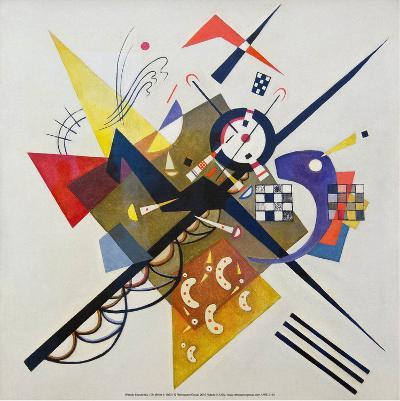 On White ll, 1923-Wassily Kandinsky-Art Print