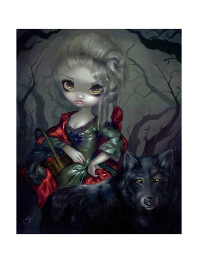 Once Upon a Midnight Dreary-Jasmine Becket-Griffith-Art Print