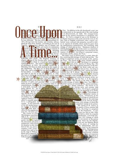Once Upon A Time Books-Fab Funky-Art Print