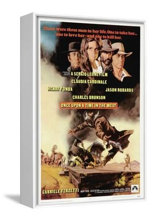 Sergio Leone western movie poster print 2 1968 Once upon a time in the west