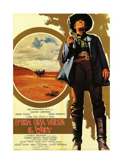 Once Upon a Time in the West, 1968 (C'Era Una Volta Il West)--Giclee Print