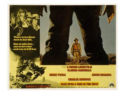 Once Upon a Time in the West, Charles Bronson, 1968--Photo