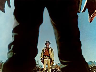 Once Upon A Time In The West, Charles Bronson, Henry Fonda, 1968--Photo
