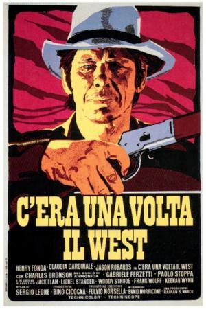Once upon a time in the west 1968 Sergio Leone western movie poster print 2