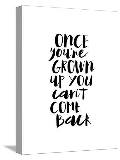 Once Youre Grown Up You Cant Come Back-Brett Wilson-Stretched Canvas Print