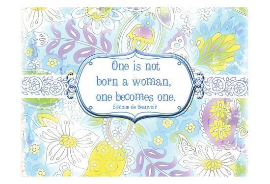 One Becomes One-Elizabeth Jordan-Art Print