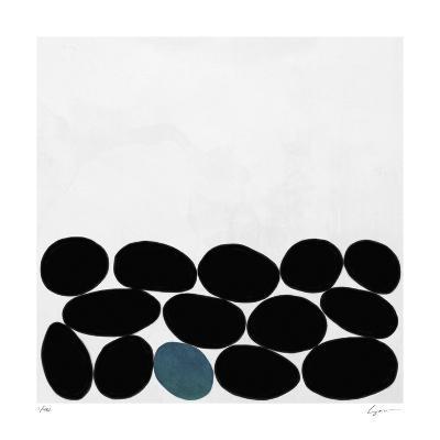 One Blue Stone-Yuko Lau-Giclee Print